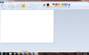 The new Windows 7 Paint