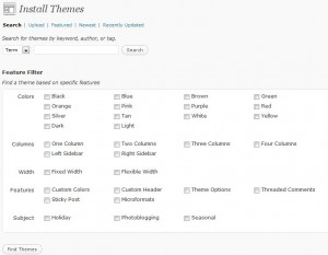 Wordpress Theme Installer