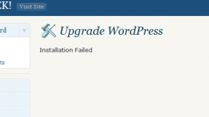 Wordpress auto upgrade