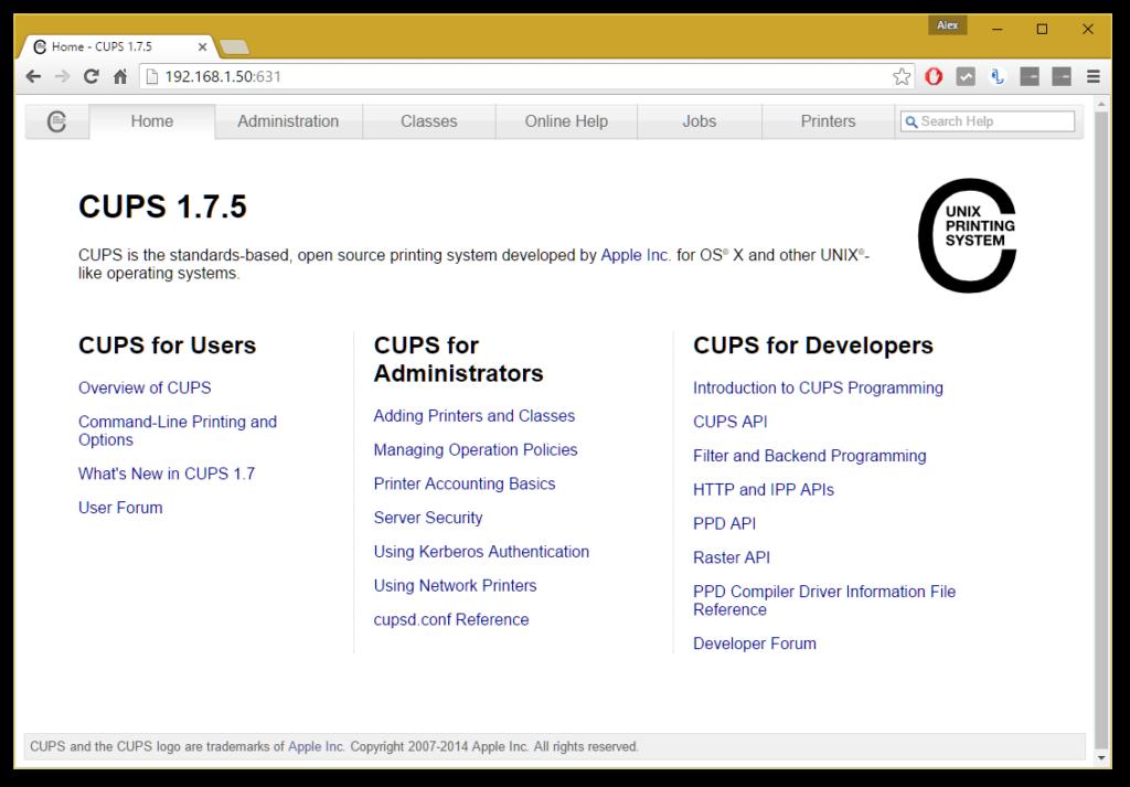 Home_-_CUPS_1.7.5_-_Google_Chrome_fcf924dd4bd74bcf8f5a3dacc57b826d